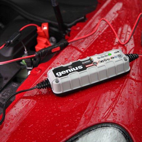 Интеллектуальное зарядное устройство G3500EU для 6 В и 12 В аккумуляторов Превью 3