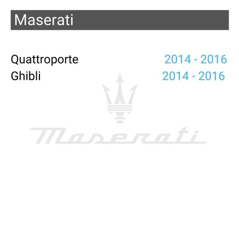 Wireless CarPlay and Android Auto Adapter for Maserati Quattroporte / Ghibli Preview 1