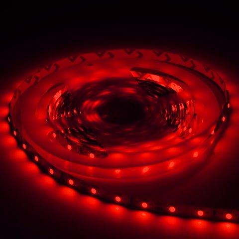 Світлодіодна стрічка SMD3528 (червона, 300 світлодіодів, 12 В DC, 5 м, IP20) Прев'ю 2