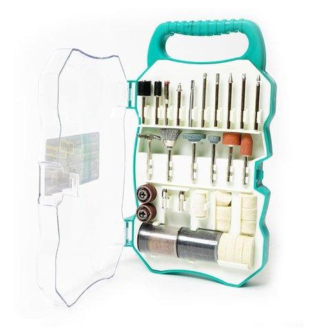 Набір аксесуарів Pro'sKit PT-5100 для шліфмашин Pro'sKit PT-5201A, PT-5201B, PT-5501I Прев'ю 1