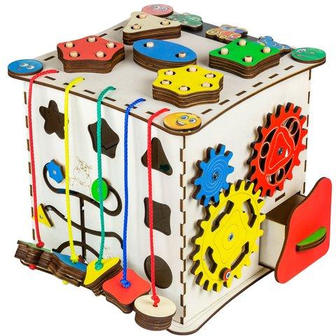 Бизиборд GoodPlay Развивающий кубик (25×25×25) Превью 4