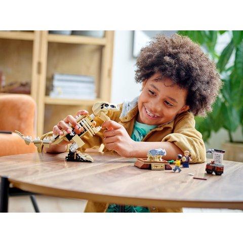 Конструктор LEGO Jurassic World Виставковий скелет тиранозавра 76940 Прев'ю 11